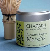Matcha can and whisk
